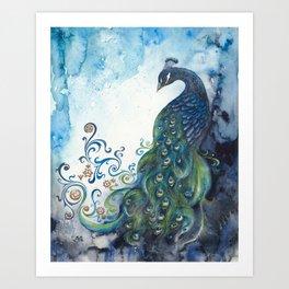 Clockwork Elegance Art Print