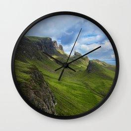 Scottish Highlands Wall Clock