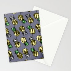 PINEAPPLE black Stationery Cards