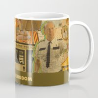 wes anderson Mugs featuring Moonrise Kingdom - Wes Anderson by Smart Store