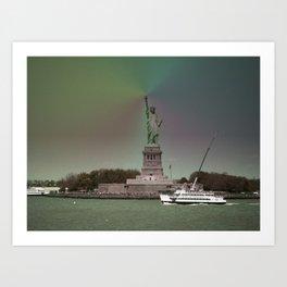 Liberty Statue (NY) Art Print