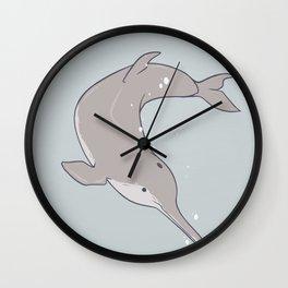 Baiji Dolphin Wall Clock