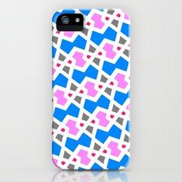 Zigzag Diamond Interlock iPhone Case