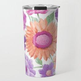 Blooms Blooms Blooms Travel Mug