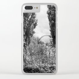 spokes Clear iPhone Case