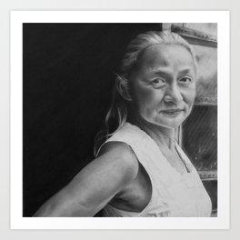 4: Rhinoceros Women Series Art Print