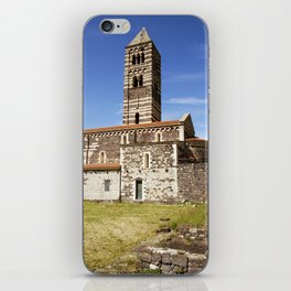 OLD CHURCH of SARDINIA iPhone Skin