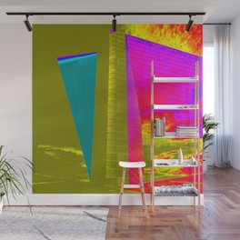 Architectonic in colors Wall Mural