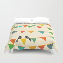 Carnival is coming to town Duvet Cover