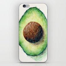 Avocado Split iPhone & iPod Skin