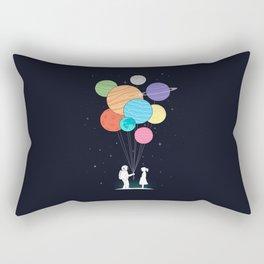 You are my universe (black) Rectangular Pillow