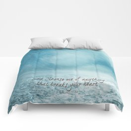 Cleanse me Psalm 139 Comforters