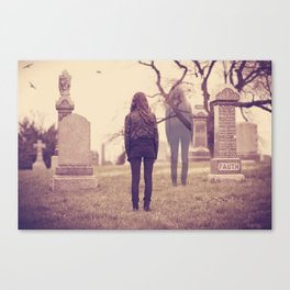 Returning to the Afterlife  Canvas Print