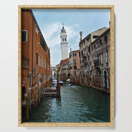 Leaning Venice Serving Tray