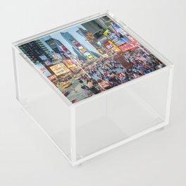 Times Square Tourists Acrylic Box