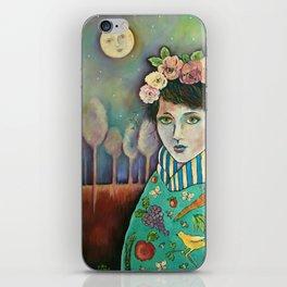Organic Girl iPhone Skin