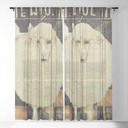 Vermont Farms Sheer Curtain