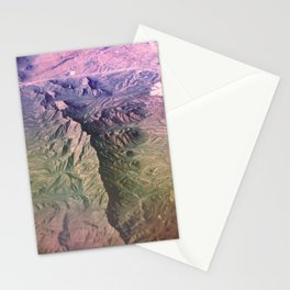 The Organ Mountains New Mexico Stationery Cards