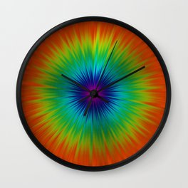Burst of Colour Wall Clock