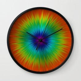 Burst of Colour Wall Clock