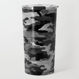 Camouflage (Gray) Travel Mug