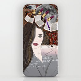 Intelligence and Beauty  iPhone Skin