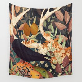 Nature Reclaiming Wall Tapestry