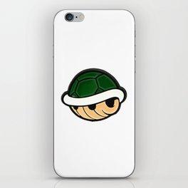 Turtle Shell - Mario Bros iPhone Skin