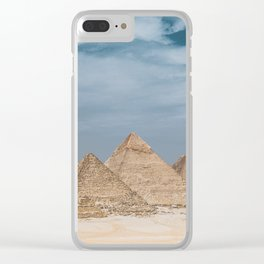 Giza Pyramid Complex Clear iPhone Case