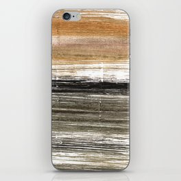 Shadow abstract watercolor iPhone Skin