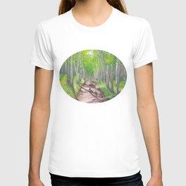TAFAC.net Portal Painting T-shirt