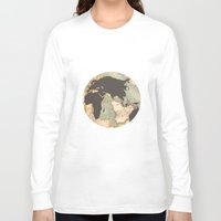 earth Long Sleeve T-shirts featuring earth by Sébastien BOUVIER