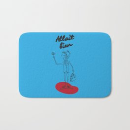 "The Ink - ""Bien"" Bath Mat"