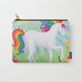 daydreamer (rainbow unicorn), sunshine, petunias Carry-All Pouch