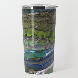 Tiny Blue Threads IV Travel Mug