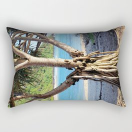 Looking through the Pandanus Rectangular Pillow