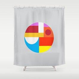 Nickel Shower Curtain