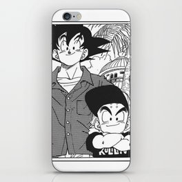 DBZ - Manga 8 iPhone Skin