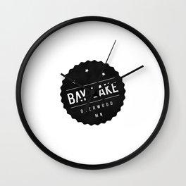 BAY LAKE Wall Clock
