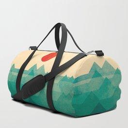 The ocean, the sea, the wave Duffle Bag