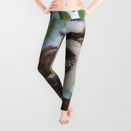 Early Morning Wake Up Call Leggings