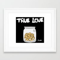 cookies Framed Art Prints featuring Cookies by Firielle