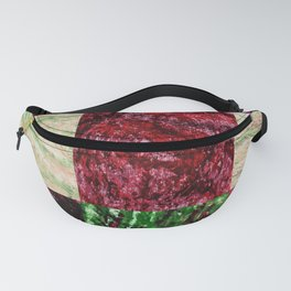 Patchwork color gradient and texture 2 Fanny Pack
