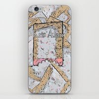 cookie iPhone & iPod Skins featuring Cookie by Kris alan apparel