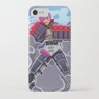league of legends iPhone & iPod Cases featuring League of Legends: Vi by Arnix