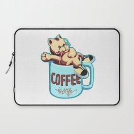 Coffee is Life Laptop Sleeve