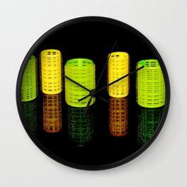 Roller city Wall Clock