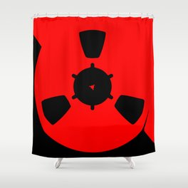 Reel of Tape Shower Curtain