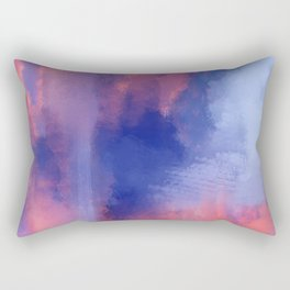 abstract oil painting Rectangular Pillow