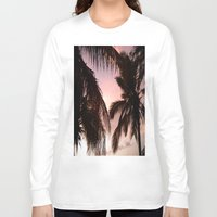 palm trees Long Sleeve T-shirts featuring palm trees by NatalieBoBatalie